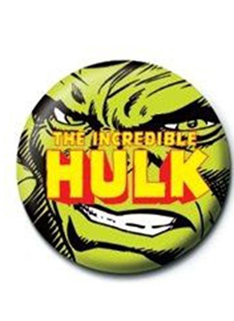 Pyramid International Rozet - Marvel Incredible Hulk Renkli